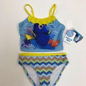 Disney Finding Dory 2 Piece Swimwear.
